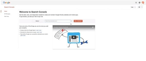How to connect your site to Google Search Console